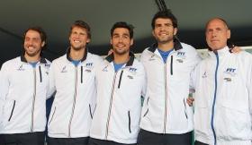 La squadra italiana di Coppa Davis