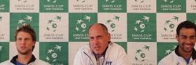 Queste le dichiarazioni della squadra italiana di Davis Cup - Foto Costantini