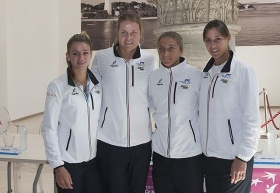 Ogi si dedice Italia vs Usa di Fed Cup