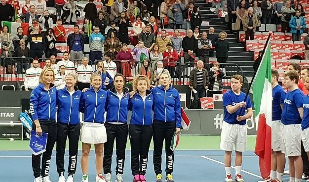 Fed Cup: Sarà la Russia l'avversaria dell'Italia per rimanere nel World Group 2