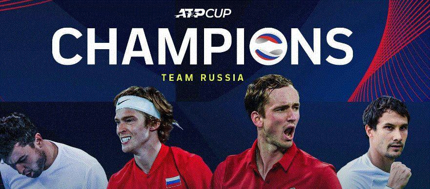 La finale ATP CUP 2021