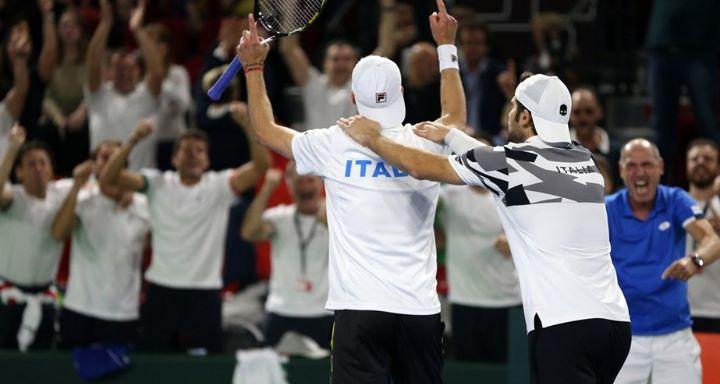 Davis Cup: Le dichiarazioni della squadra italiana dopo la vittoria nel doppio