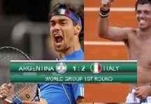 Davis Cup 2014 – World Group 1° Turno – Argentina vs Italia 1-3. Rivivi il Livescore dettagliato del successo dell'Italia a Mar del Plata