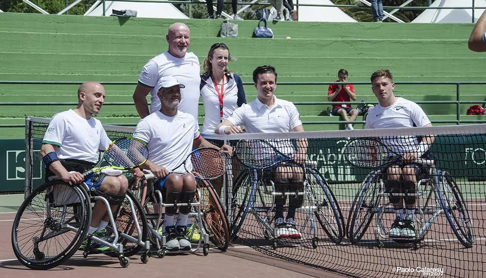 Prosegue la Bnp Paribas World Team Cup Wheelchair Tennis 2017 sui tredici campi del Tc Alghero e dell'Hotel Baia di Conte. In una giornata estiva, sono arrivati i primi verdetti.