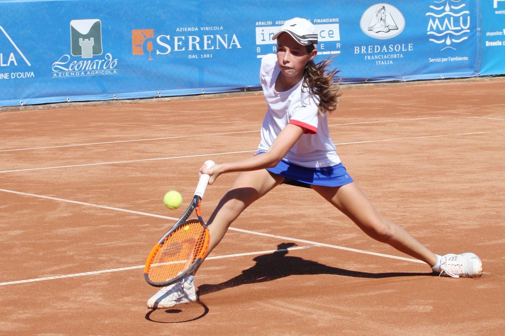 Giulia Dal Pozzo, ha conquistato il punto italiano nella sfida contro la Slovenia - Foto Alvaro Maffeis