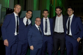 Italia alle Davis Cup Finals 2019 (Photo by Manuel Queimadelos / Kosmos Tennis)