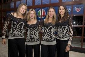 La squadra italiana di Fed Cup