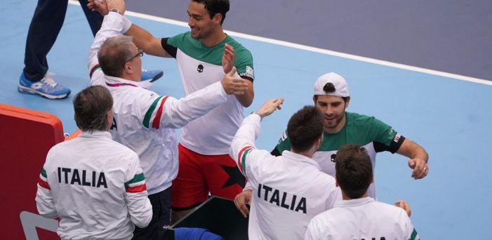 """Davis Cup - Giappone vs Italia 1-2: Le dichiarazioni della squadra italiana. Fabio Fognini """"Quanto ci siamo mancati io e Simone"""""""