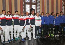 Davis Cup: Quarti di Finale. Live Italia vs Francia. Day 1