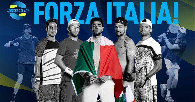 ATP Cup: I giocatori italiani presenti