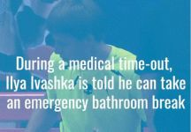 Il bizzarro episodio capitato a Ilya Ivashka a San Pietroburgo (Video)
