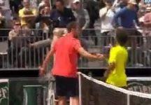 Video del Giorno: Stretta di mano vigorosa di Jerzy Janowicz a Maxime Hamou