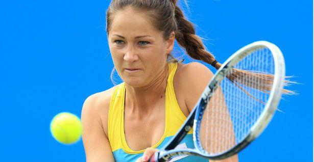 Bojana Jovanoski classe 1991, best ranking n.32 WTA