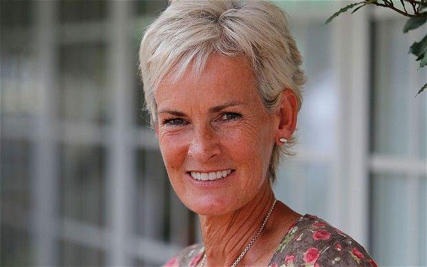 Judy Murray nella foto