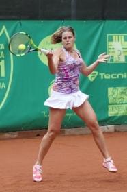 Karin Knapp, 28 anni, è la prima favorita a Brescia - (foto Maffeis)