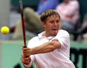 Evgenij Kafelnikov battuto da Corrado Borroni a Roma