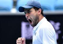 Australian Open: Continua la favola di Aslan Karatsev. E' in semifinale a Melbournea al primo slam in carriera. Dimitrov ko per problemi fisici (Video)