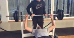 Ivo Karlovic ed i pesi a 110 kg
