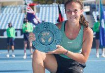 WTA 250 Phillip Island Trophy (Melbourne):  Successo di Daria Kasatkina. L'aiuto di uno psicologo per ritornare a vincere (Video)