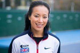 Anne Keothavong, capitano della squadra britannica di Fed Cup