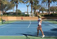 Agassi si allena anche con la Kerber