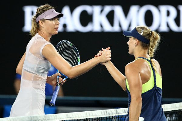 Australian Open: Angelique Kerber stende Maria Sharapova (Video)