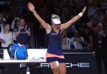 WTA Stoccarda: Angelique Kerber supera Caroline Wozniacki e fa suo il titolo. La danese è stata anche a due punti dal vincere la partita