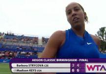 WTA Birmingham e Maiorca: Madison Keys vince a Birmingham ed è top ten. La Garcia vince in Spagna