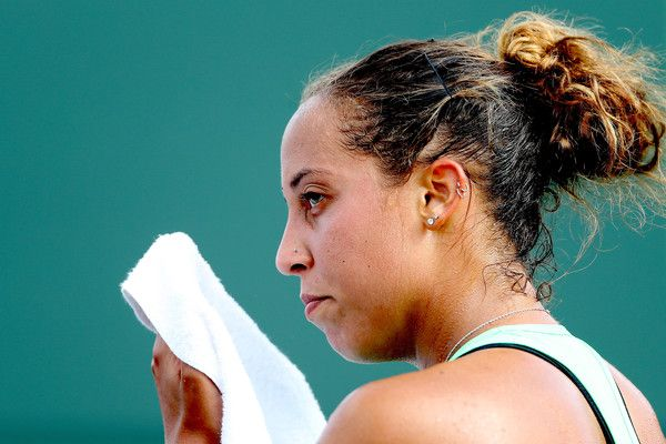 Madison Keys nella foto