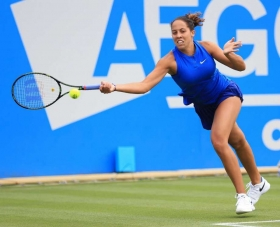 Nella foto Madison Keys