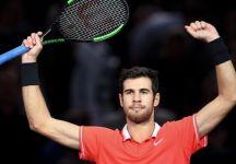 Esibizione Abu Dhabi: Thiem lotta ma non basta, Khachanov si impone in due set