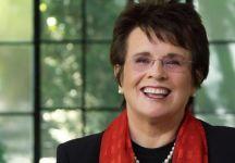 """Billie Jean King: """"Credo che si pensi ancora che gli uomini siano più bravi, e che con loro ci si possa allenare meglio"""""""