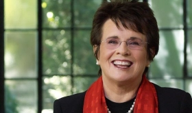 Billie Jean King ex n.1 del mondo