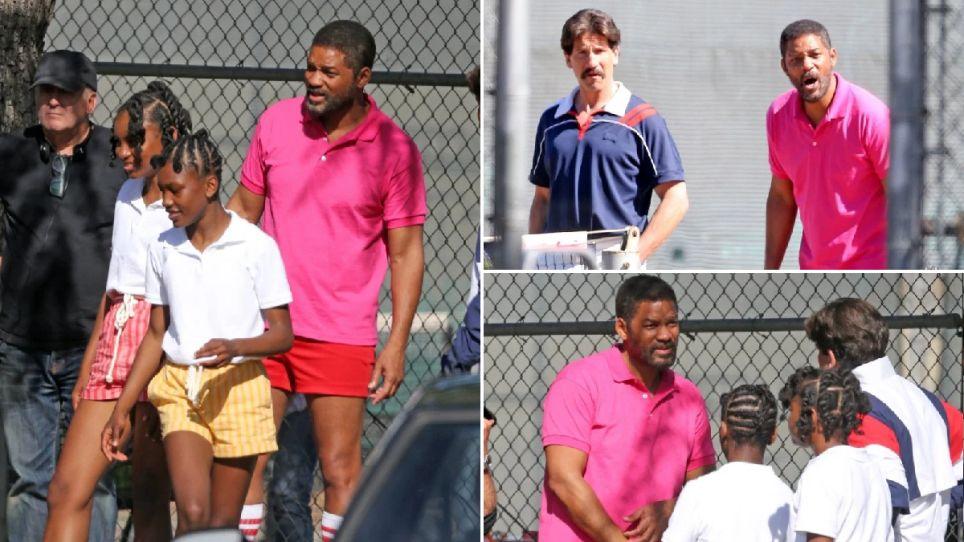"""Will Smith interpreta Richard Williams nel film sulle """"Sisters"""""""