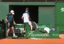 Martin Klizan furibondo (Video)