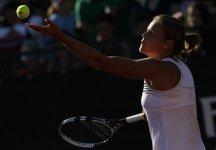 WTA Tashkent: Grande vittoria di Karin Knapp che elimina la testa di serie n.1, la rumena Niculescu