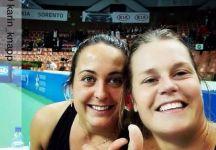 WTA Katowice: Risultati Live Finali. Live dettagliato. Barbieri e Knapp sconfitte in finale nel doppio