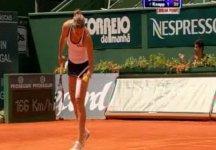 WTA Estoril: Termina in semifinale il bellissimo torneo di Karin Knapp