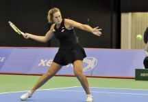 WTA Baku: Grande grinta di Karin Knapp che lotta per tutto l'incontro ma si arrende in tre set a Margarita Gasparyan