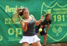 Karin Knapp vince e convince a Brescia