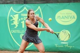 Karin Knapp, altoatesina classe 1987, ha vinto la nona edizione degli Internazionali femminili di Brescia