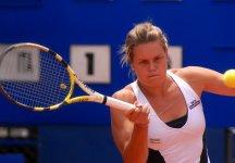 WTA Washington: Karin Knapp esce di scena al primo turno. Nel secondo set, aveva servito per vincere la frazione