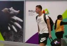 Thanasi Kokkinakis atterra a Rio ma perde le racchette