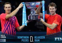 Masters Cup Londra: Henri Kontinen e John Peers vincono le Finals per la prima volta