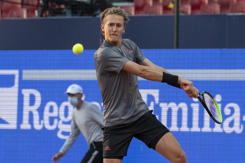 Sebastian Korda durante l'ATP di Parma