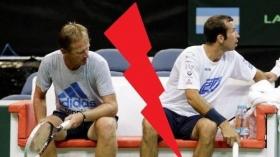 Dopo 13 anni Radek Stepanek si separa da Petr Korda