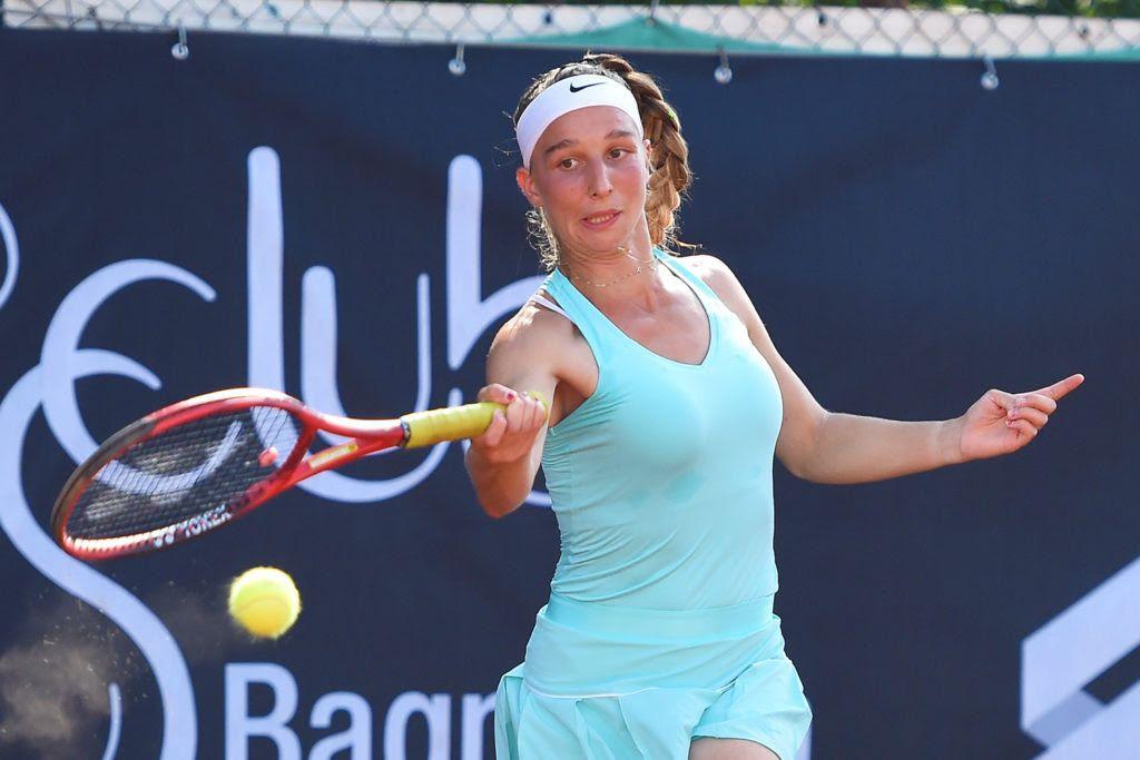 Foto 1 - Tamara Korpatsch, classe 1995 da Amburgo, ha vinto la nona edizione del Trofeo Cpz del Tennis Club Bagnatica