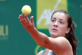 La montenegrina Danka Kovinic, 18 anni, è numero 251 al mondo - (Foto Felice Calabrò).