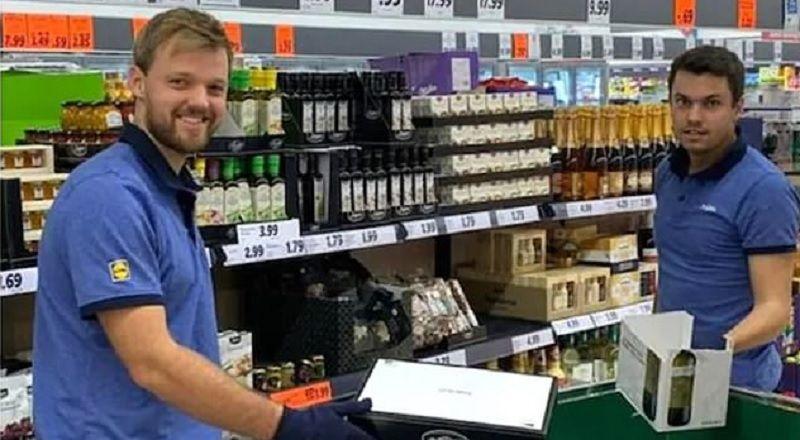 Kevin Krawietz e la scelta di lavorare al Supermercato LIDL