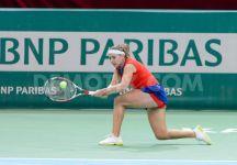 Kristina Kucova non ci sarà in Fed Cup contro l'Italia. La Kucova è sotto antibiotici da un settimana per colpa dei denti del Giudizio